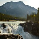 Athabasca Falls ~ Jasper National Park by Roxanne Persson