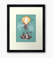 The Adventurers of the Sun and Sky Framed Print