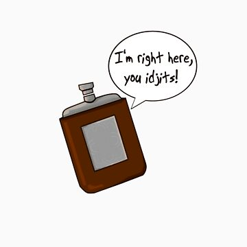 Bobby's flask by KisaSunrise