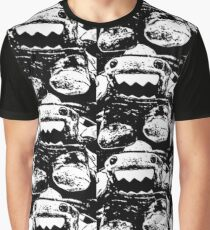 """Domo """"Scared"""" (2) Graphic T-Shirt"""