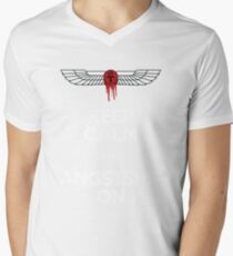 Angstshipping Men's V-Neck T-Shirt