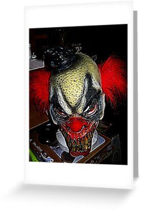 Evil Clown by Darlene Bayne