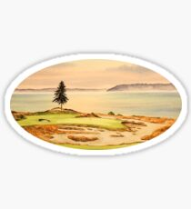 Chambers Bay Golf Course Sticker