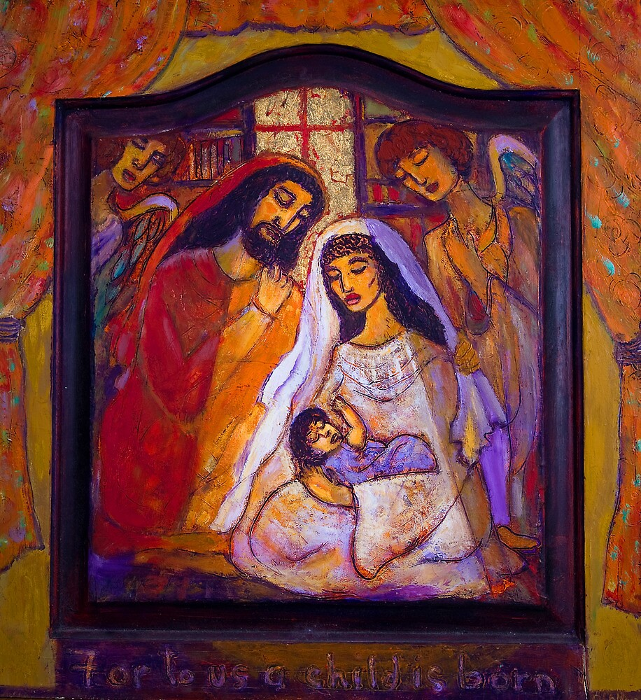 For To Us A Child Is Born by Barbara Holland