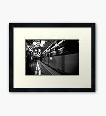 Travel BW - Paris Metro Framed Print
