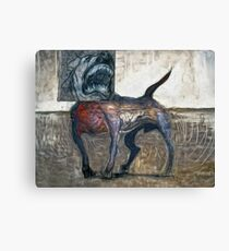Bad Dog Canvas Print