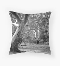 River Red Gums. Throw Pillow