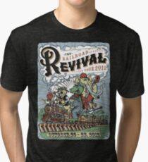 RailRoad Revival Tour Dark Shirts Tri-blend T-Shirt