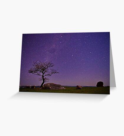"""Stellar Evening At The Rocks"" Greeting Card"
