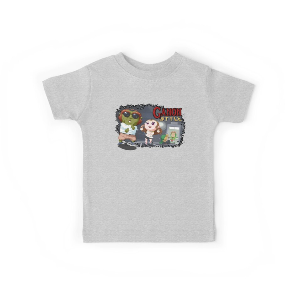 Oppan Ganon Style Kids Tees By Michael Mayne Redbubble