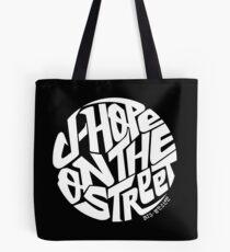 J-Hope - BTS-Mitglied Logo Serie (weiß) Tote Bag