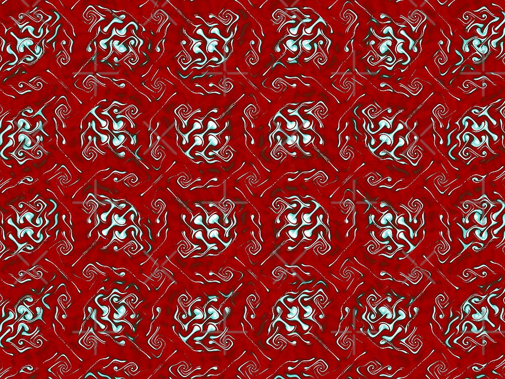 Red Gnarl by SusanAdey