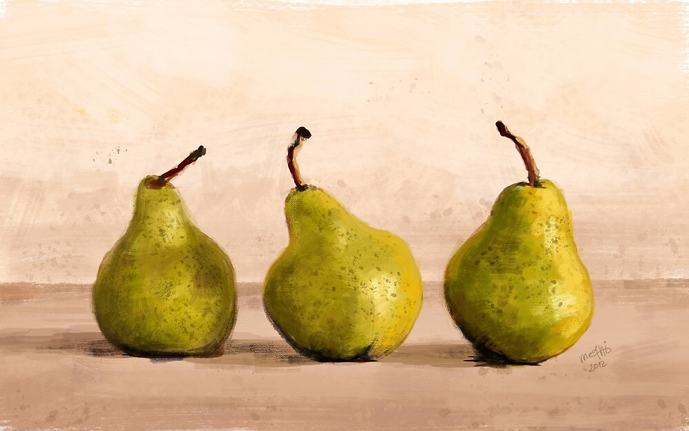 Pears by medhi