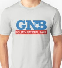 Goliath National Bank Unisex T-Shirt