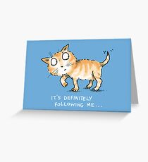 Being Tailed Greeting Card