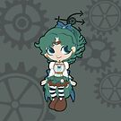 Sailor Neptune - steampunk by CptnLaserBeam