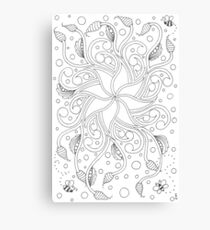 Tangled Bees Canvas Print