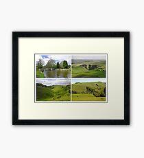 Peak District Landscapes 01-Plain  Framed Print