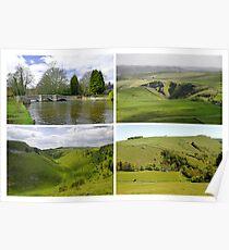 Peak District Landscapes 01-Plain  Poster