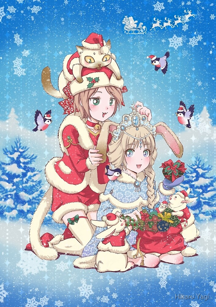 Merry Christmas and a Happy New Year! by Hikaru Yagi