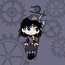 Sailor Saturn - steampunk by CptnLaserBeam