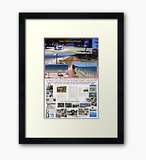 Lady Robinsons Beach - what a pleasant location to relax.  Framed Print
