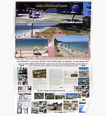 Lady Robinsons Beach - what a pleasant location to relax.  Poster