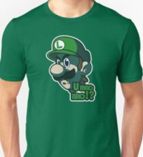 U mad bro!? Luigi T-Shirt