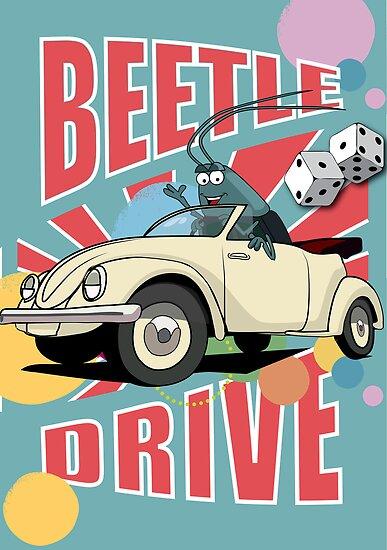 Beetle Drive 2 by leannesore