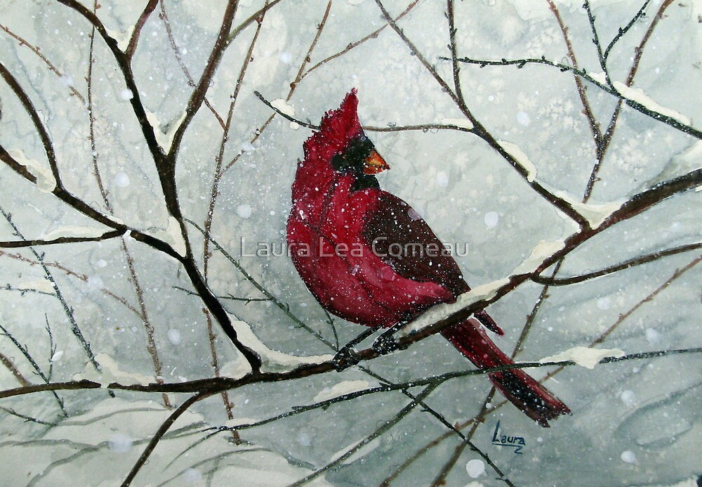 Cardinal by Laura Lea Comeau