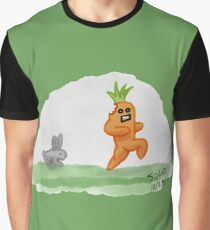 If Vegetables Could Run Graphic T-Shirt