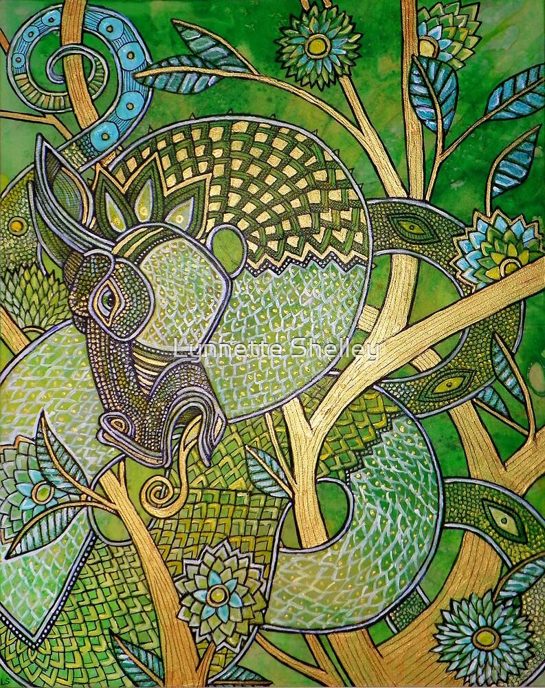 Green Tree Dragon by Lynnette Shelley
