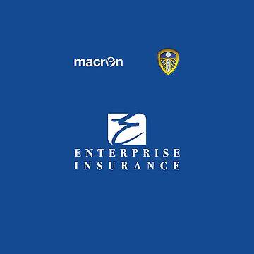 Leeds United 12/13 Away Shirt by F7James