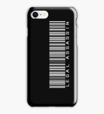 Legal Assassin case iPhone Case/Skin