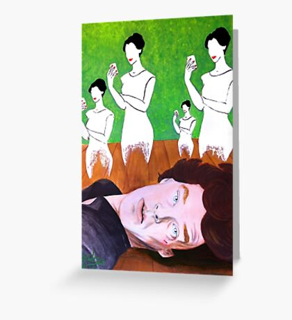 Wicked Game - Over Greeting Card