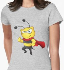 Super Bee - Thumbs Up Womens Fitted T-Shirt