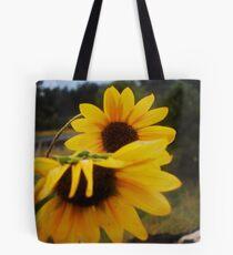 Shy Wildflowers Tote Bag