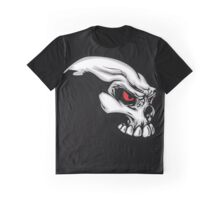 Awesome motorcycle Skull Graphic T-Shirt