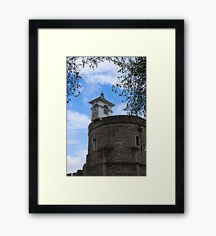 Top of the London Tower - Great Britain Framed Print