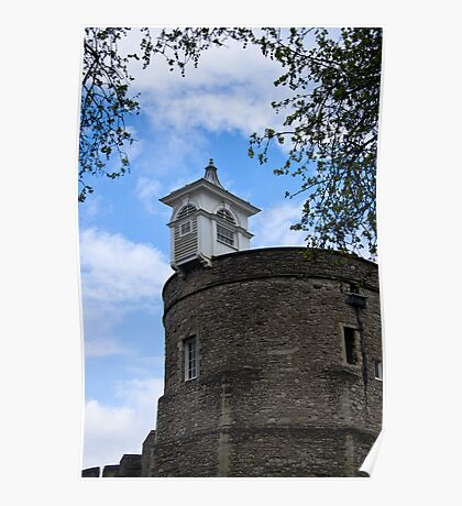 Top of the London Tower - Great Britain Poster