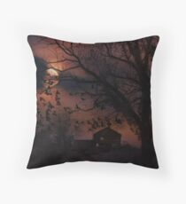 Tonight is the night... Throw Pillow