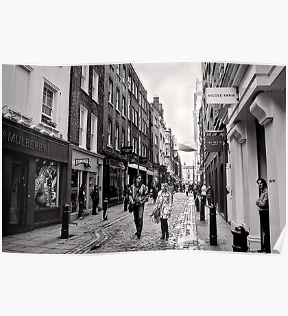 An afternoon shopping in London - Britain Poster
