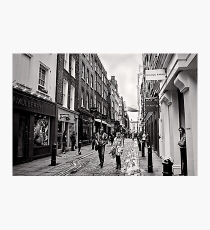 An afternoon shopping in London - Britain Photographic Print