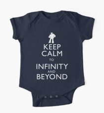"""""""KEEP CALM TO INFINITY AND BEYOND"""" Kids Clothes"""