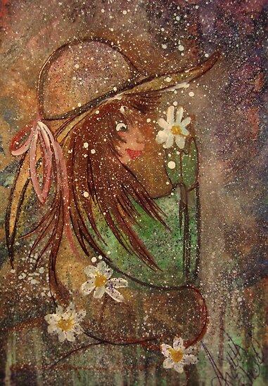 Daisy DayDreams by RealPainter