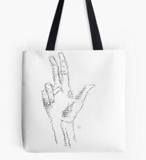 Type Hand Tote Bag