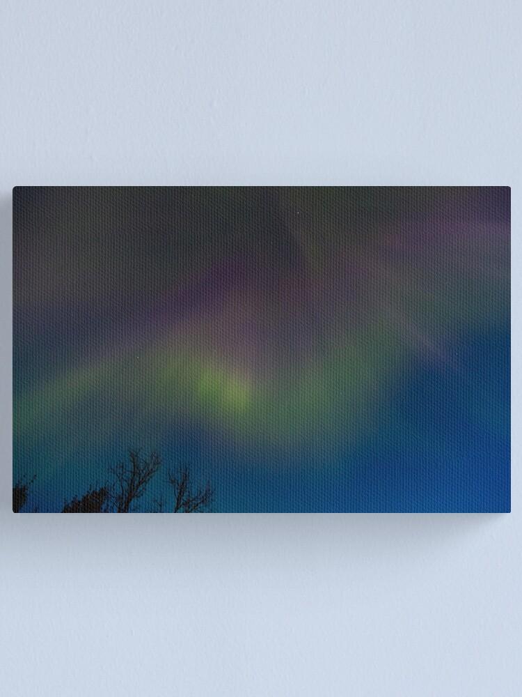Alternate view of Aurora Borealis Canvas Print