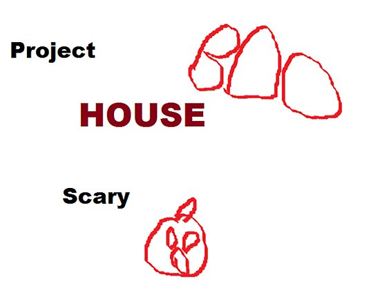 The First Project Scary House Logo by Colt45killer-S