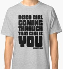 Disco Girl Gravity Falls Classic T-Shirt