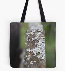 White Lichen Tote Bag